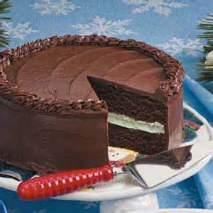 Chocolate Mint Layer Cake Recipe