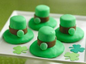 Leprechaun Hat Cookies