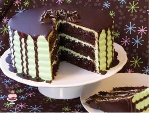 Mint Chocolate Cake Recipe